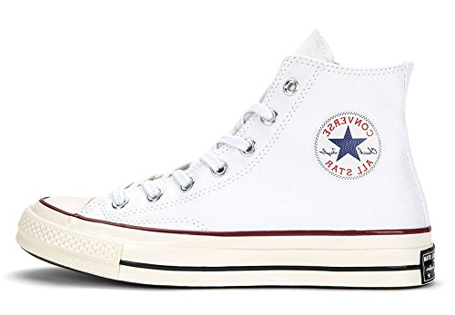 Converse Chuck Taylor All Star 70 Hi Sneakers, Bianco, 149446c (us Mens 7 / Donna 9)
