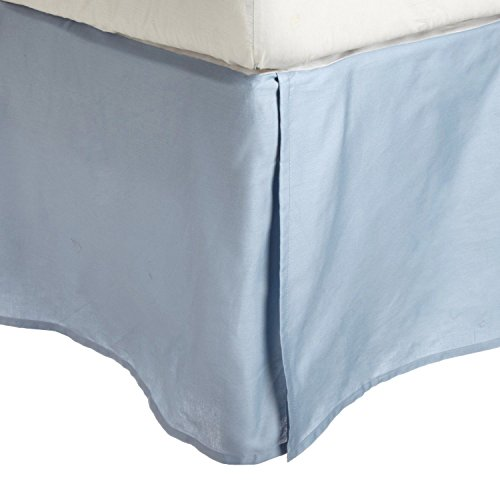 dust ruffle light blue - 5