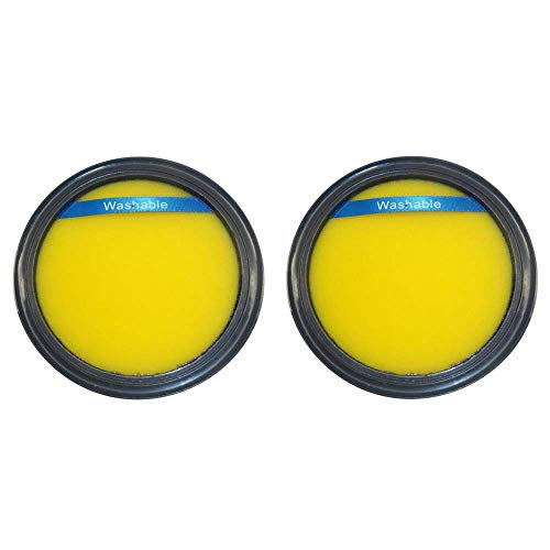 - Washable & Reusable Filter for Eureka DCF-25, 67600 & Electrolux 82982, Airspeed, SuctionSeal & Endeavor (2-Pack)