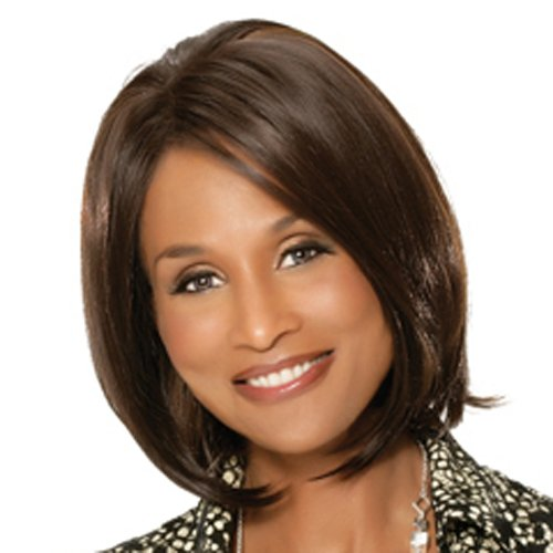 BEVERLY JOHNSON Lace Front Wig - OPAL - Color #1B/27 - Off Black/Blonde