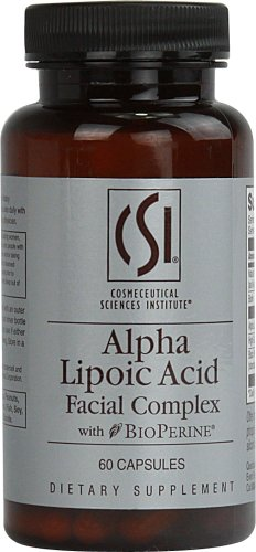CSI Alpha Lipoic Acid Facial Complex with BioPerine -- 60 Capsules