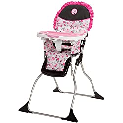 Disney Simple Fold Plus High Chair, Garden Delight, Minnie