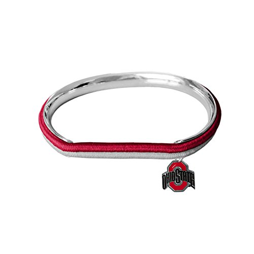 Ohio State Buckeyes Hockey - NCAA Ohio State Buckeyes Hair Tie Bangle Bracelet
