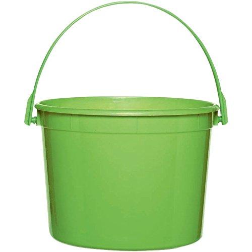 Kiwi Green Plastic Bucket by Amscan (Image #1)