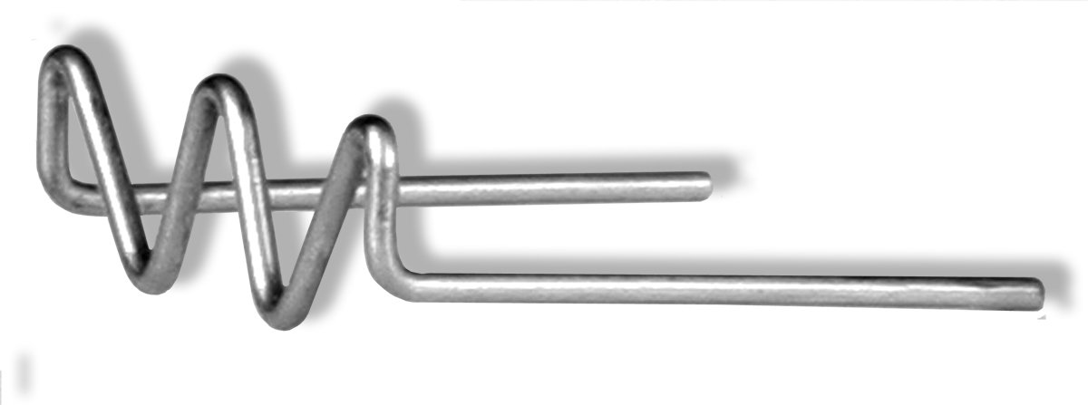 Motor Guard MS2005 M-Shape Magna-Stakes, 50-Pack by Motor Guard