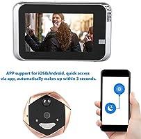 Intercom - Videoportero IP WiFi, Pantalla táctil de 4,3 Pulgadas ...