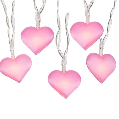Pink Heart Led Lights in US - 7