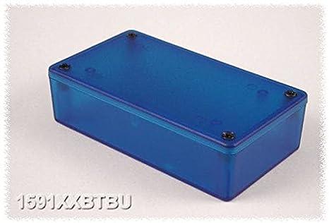 HAMMOND 1591XXETBU Enclosure, Flame Retardant, UL94V-0, Multipurpose, 193 mm, 113 mm, 61 mm (1 piece)