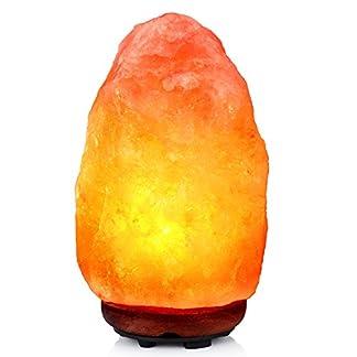 Lampada di sale dell'Himalaya 2-3 kg Lampada in cristallo ad aria purificata