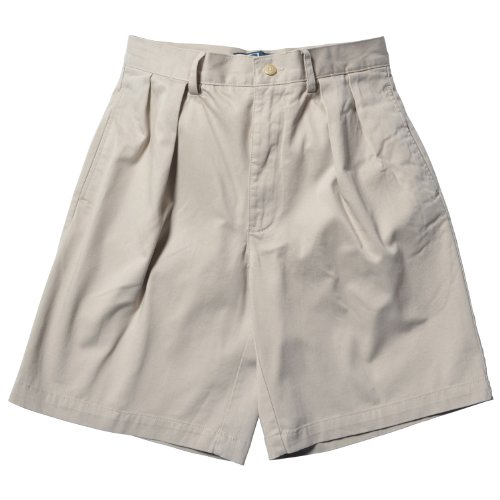 Polo Ralph Lauren Tyler Pleated Chino Shorts, 33, (Tyler Chino Short)