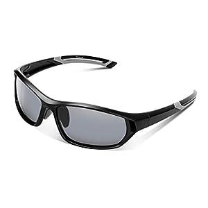 Polarized Sport Sunglasses For Men Youth UV400 Protection Lightweight Baseball Fishing Golf
