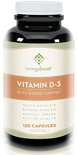 Omegaboost Vitamin D3 (120 Capsules) - 5000 iu
