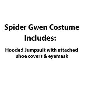 - 41FwnwwGJBL - Marvel Rising: Secret Warriors Spider Gwen/Ghost Spider Costume, Large