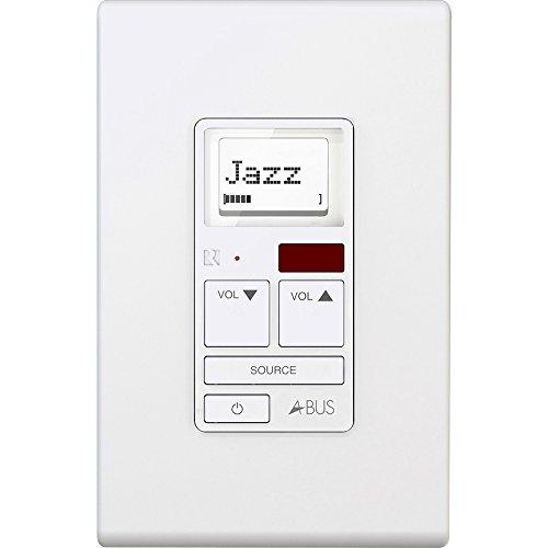 Russound A-K6L Amplified Keypad White by Russound