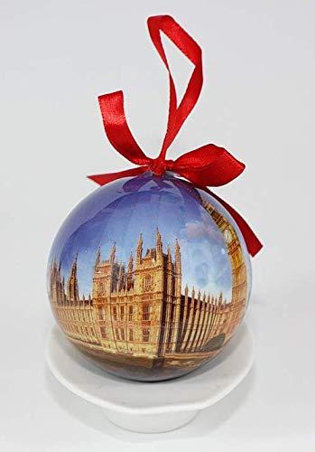London England Souvenir Collectible Christmas Ball Ornament