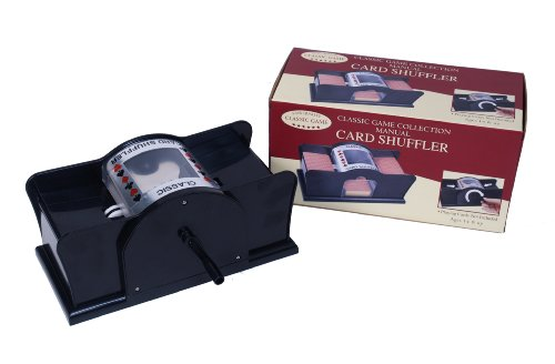 Manual Card Shuffler(Discontinued by manufacturer) (1 Deck Shuffler Card)
