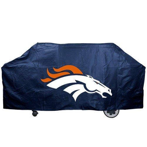 (Denver Broncos Navy Blue Grill Cover)