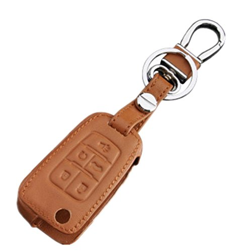 leather-keyless-entry-remote-control-key-fob-cover-case-protector-for-chevrolet-camaro-cruze-equinox