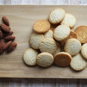 Byrds Famous Cookies -Bite Size - 16 Oz. (Almond Shortbread) ()