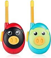 Jaybest Talkies Walkies pour Enfants, Portable Walkies Talkies pour avec Radio bidirectionnelle 1 Mille de Long, Cadeaux...