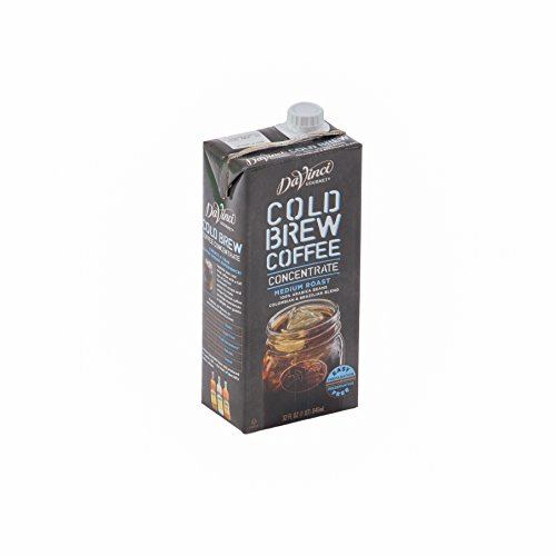 DaVinci Gourmet Cold Brew Coffee Concentrate 32 oz, Pack of 6 by DaVinci Gourmet