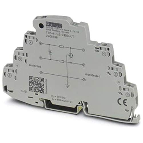Surge Protector for 2-Wire Floating Signal Circuit; 24VDC; 20MA Current Loop