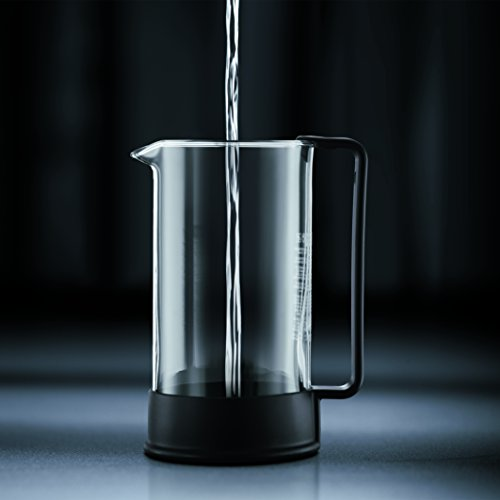 Bodum 1548-01US Brazil French Press Coffee and Tea Maker 34 Ounce Black by Bodum (Image #3)