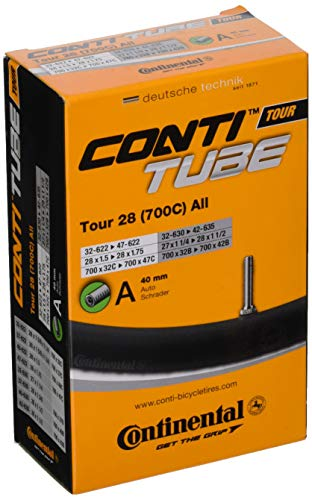 Continental 700c Bicycle Tube, 28/47 40mm Schrader Valve