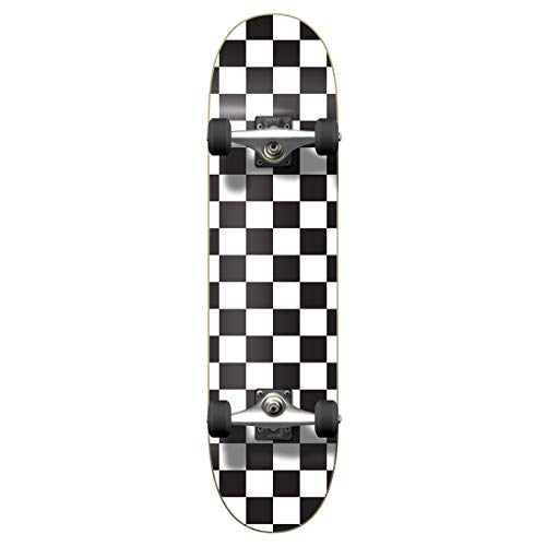 Checker Complete Skateboard - Checker Complete Skateboard 7.75