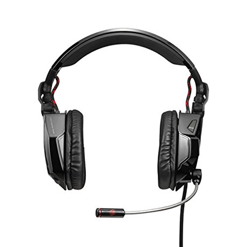 Mad Catz F.R.E.Q.5 Stereo Gaming Headset for PC and Mac, Gloss Black