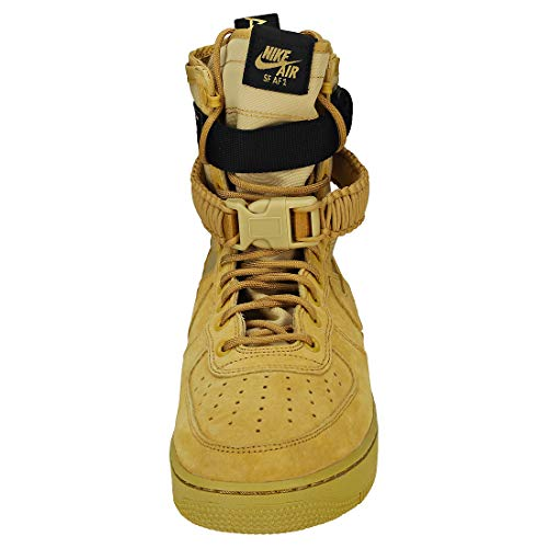 NIKE Shoe Scarpe Black 700 Ginnastica Club Gold Uomo Club Gold Basse SF 1 Air Multicolore da Force Gold Men's Club rwXUYr