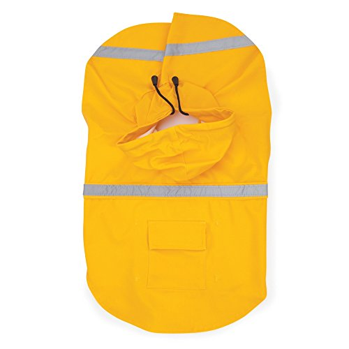 Guardian Gear Rain Jacket for Pets, Medium, Yellow