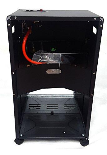 Black PROGEN Calor 4.2KW Portable Free Standing Heater