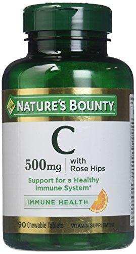 (Natures Bounty Vitamin C-500 Mg)