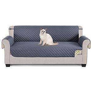 TAOCOCO Sofa Protectors 3 Seater,Slipcover for Sofa,Sofa Cover for Pets,Sofa Slipcovers for Kids with Elastic Strap…