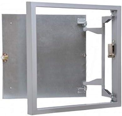 Tapa para Revisión 400 mm x 400 para Baldosas,acero,Revisión Mantenimiento Puerta Panel de acceso Trampilla de Registro Puerta de Inspección: Amazon.es: Bricolaje y herramientas