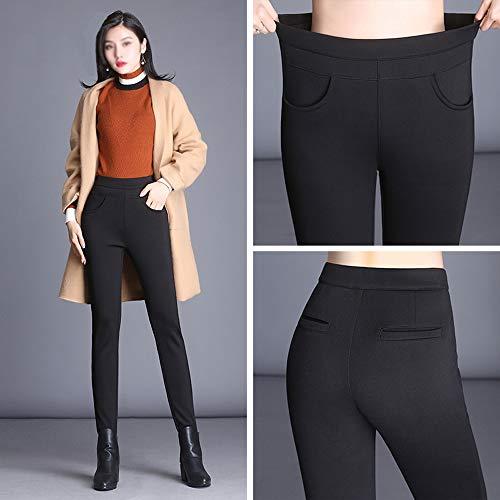 Velluto Invernali Vita 3xl Leggings Gaoqq Di 1pack Plus 1pack Warm Pantaloni Alta Invernale xxl A BCqZH