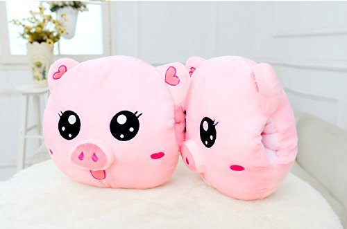 HOMEE Hand Warmers Pillow Pig Farms Plush Toys Three-In-One Blanket Two Lunch Sleeping Pillow Creative-Hand over Pillow Doll