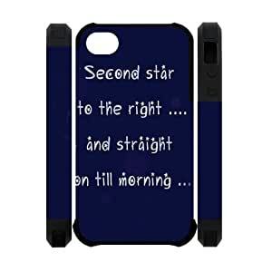 Custombox Peter Pan Iphone 4/4s Case Plastic Hard Phone Case for Iphone 4/4s-iPhone 4-DF02515