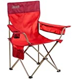 Coleman Quad Rambler Chair, Bordeaux Red