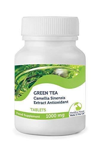 Té Verde 1000 Mg Camelia Sinensis Extracto Antioxidante Salud Suplemento Alimenticio Vitaminas 30/60/