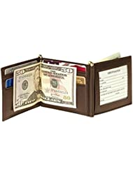 Royce Leather Mens Double Money Clip