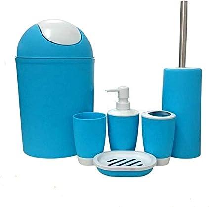 6 cuarto de baño jabón portavasos botella de loción kit de ...