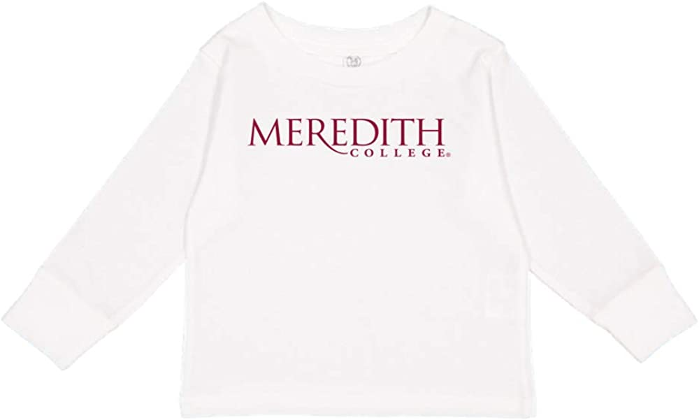NCAA Meredith College Angels PPMDC01 Toddler Long-Sleeve T-Shirt