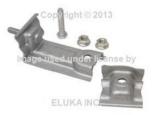 BMW OEM Rear Exhaust Bracket Kit - Rear Muffler to Rubber Mount E36 318i 318is 320i 323i 325i 325is (E36 Rubber)