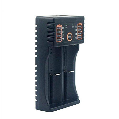 FidgetFidget Hixon Q3 USB Smart Battery Charger for 18650 26650 RCR123A Li-ion &AA AAA Ni-MH