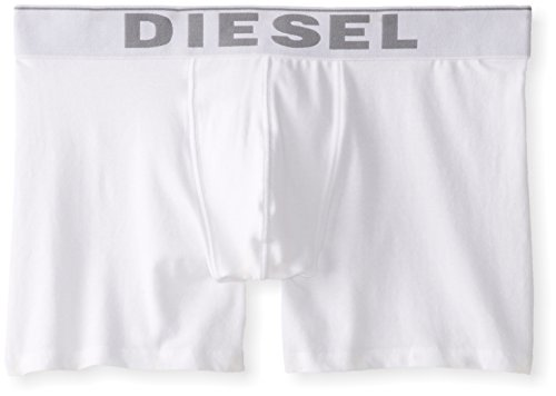 Diesel Men's Sebastian 3-Pack Essentials Boxer Brief, White, XL