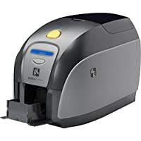 Zebra ZXP Series 1 Single Sided Dye Sublimation/Thermal Transfer Printer - Color - Desktop - Card Print - Auto Feed - 100 Card Feeder, 45 Card Output Hopper - 7.2 Second Mono - 30 Second Color - 300 dpi - USB - Ethernet - LCD - Z11-0M0C0000US00