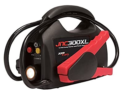 Jump-N-Carry JNC300XL 900 Peak Amp Ultraportable 12V Jump Starter with Light by Clore Automotive