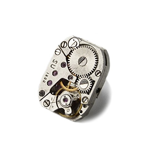 Quality Handcrafts Guaranteed Steampunk Lapel Pin (Lapel Steampunk Pin)